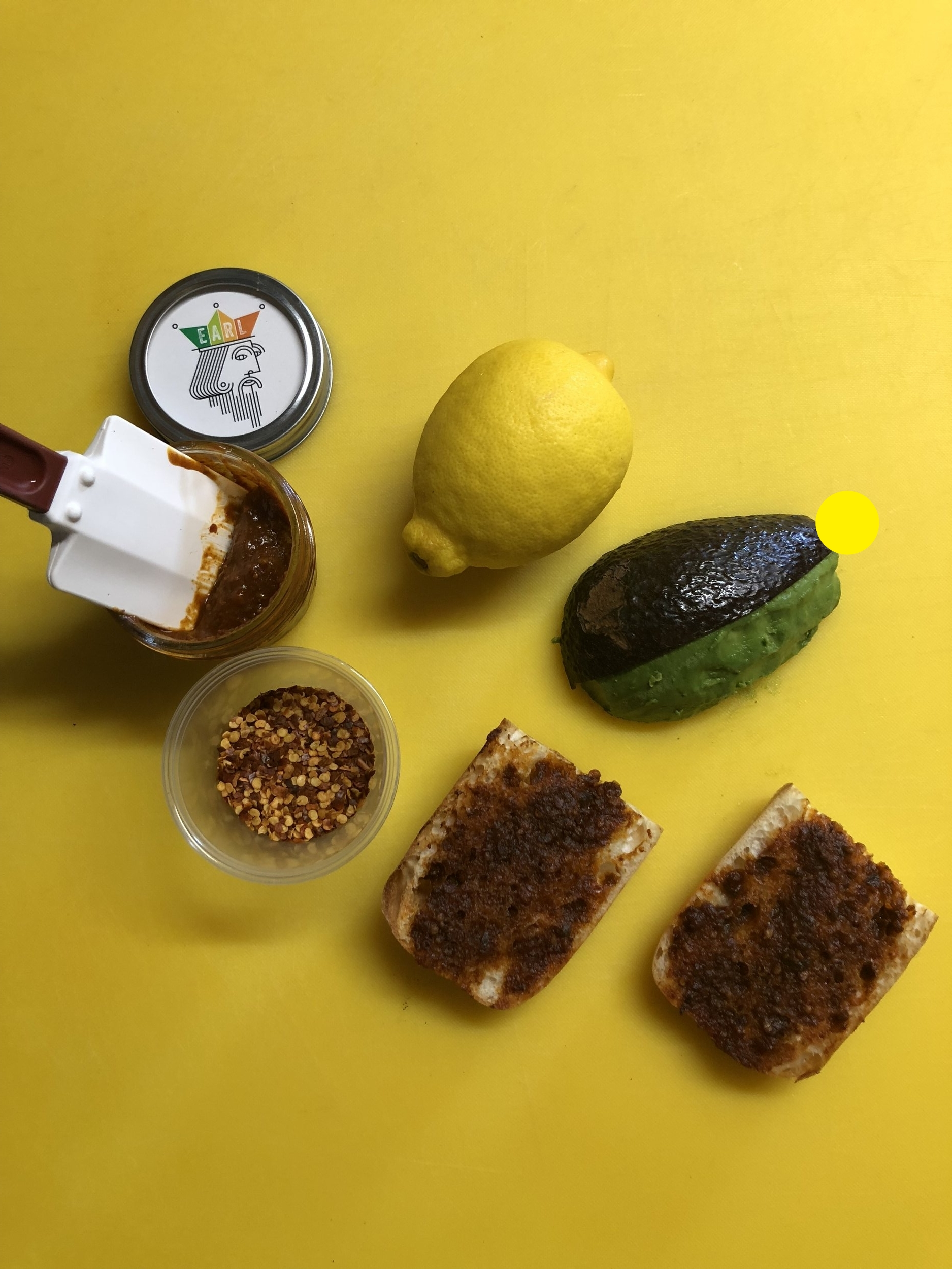 PEEL YOUR AVOCADO - butter your bread