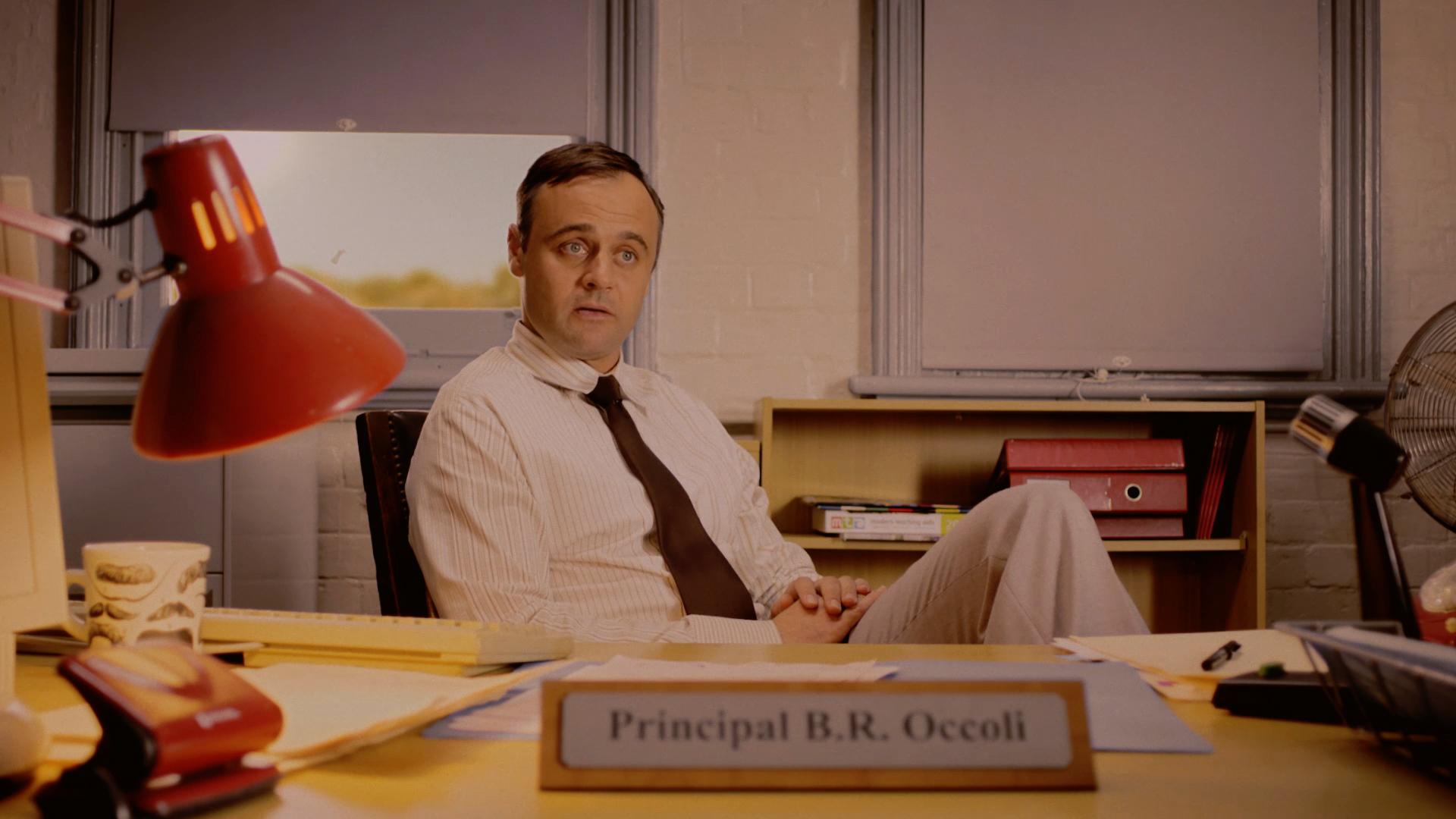 Gyton Grantley is Principal B.R Occoli