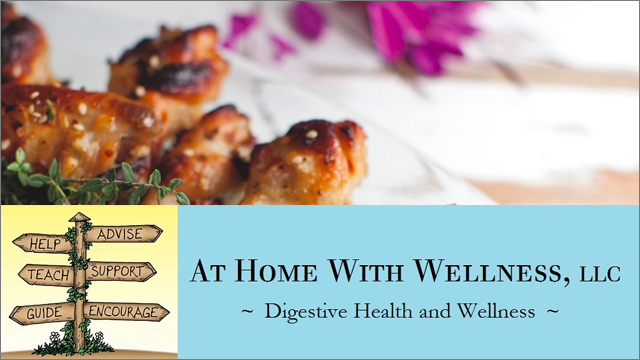 AT HOME WITH WELLNESS  RECIPE