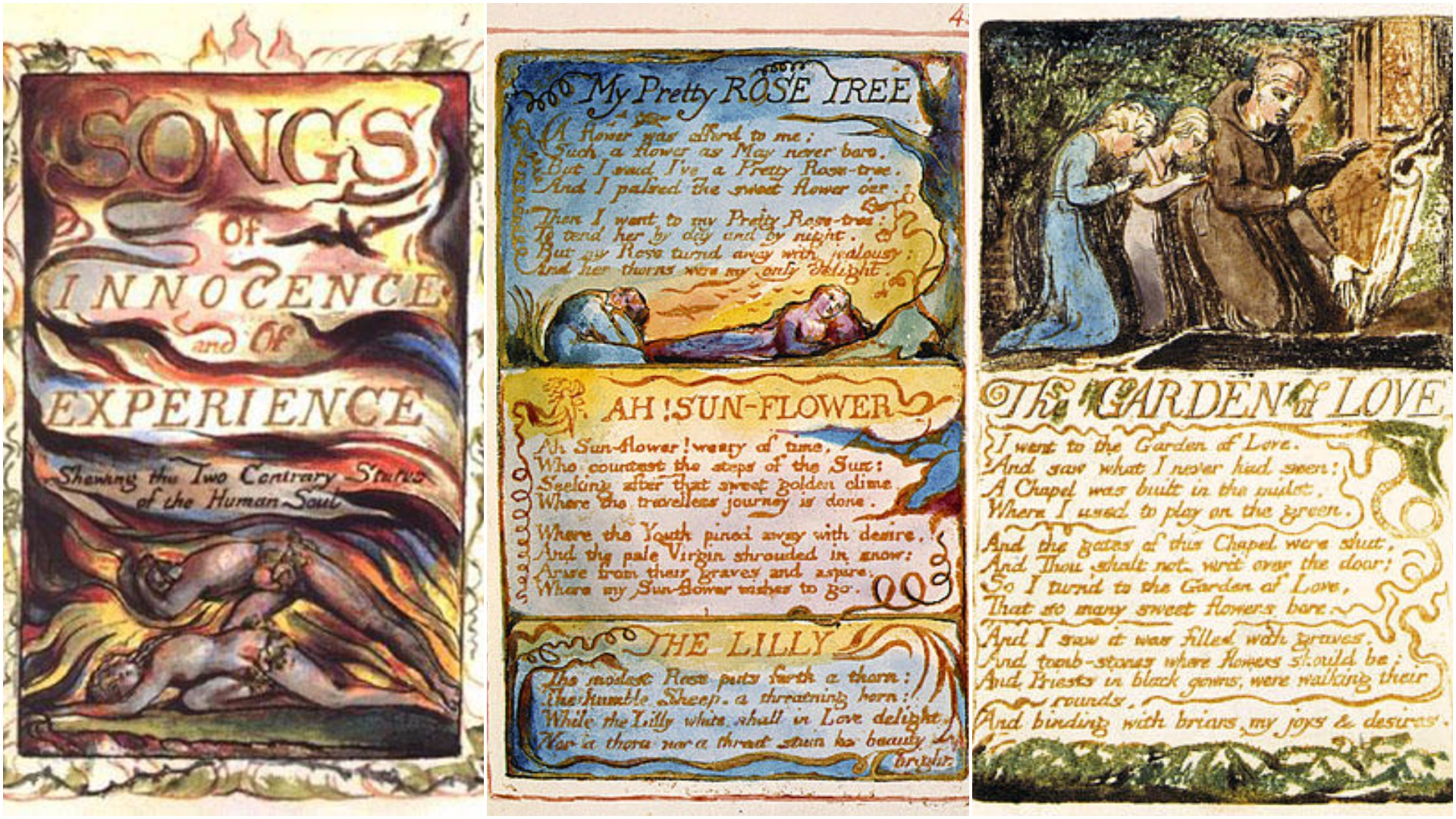 William Blake, Songs of Innocence and of Experience, 1789-1794