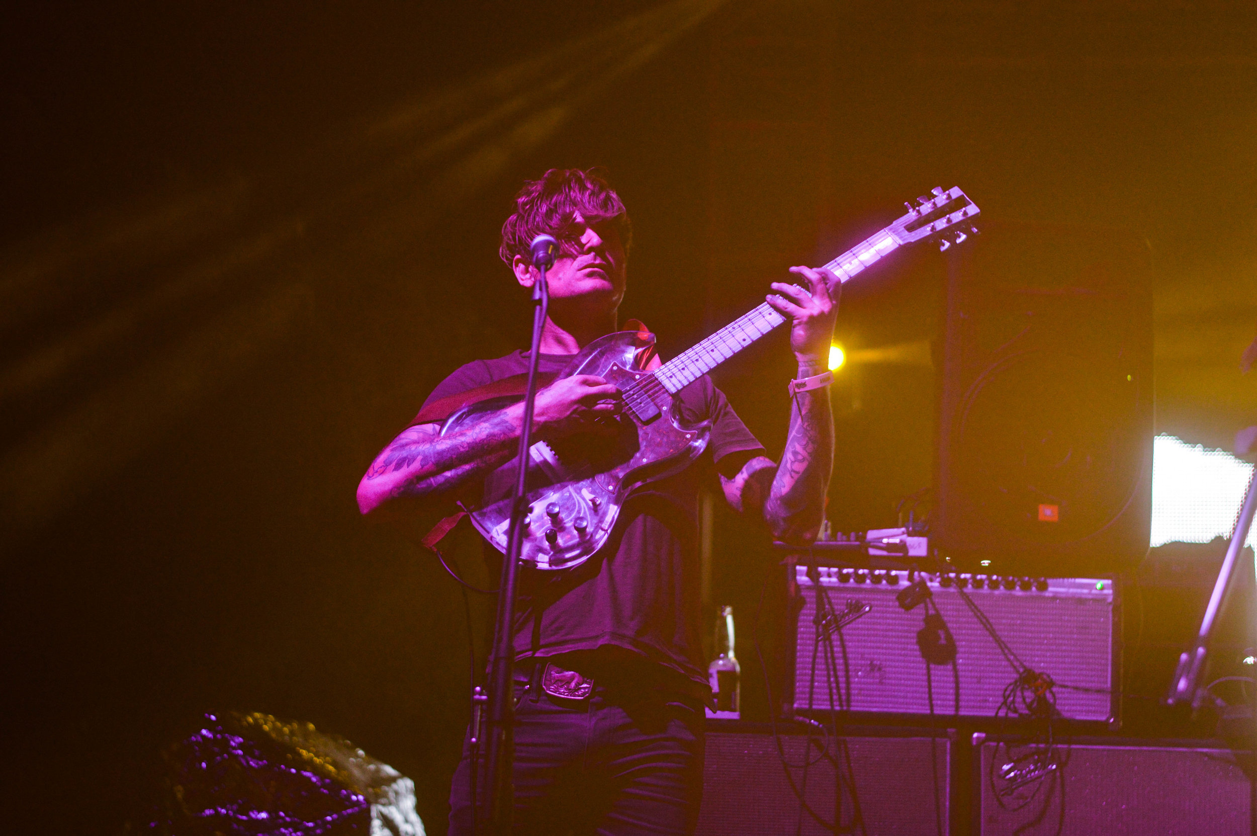 John Dwyer of THEE OH SEES.