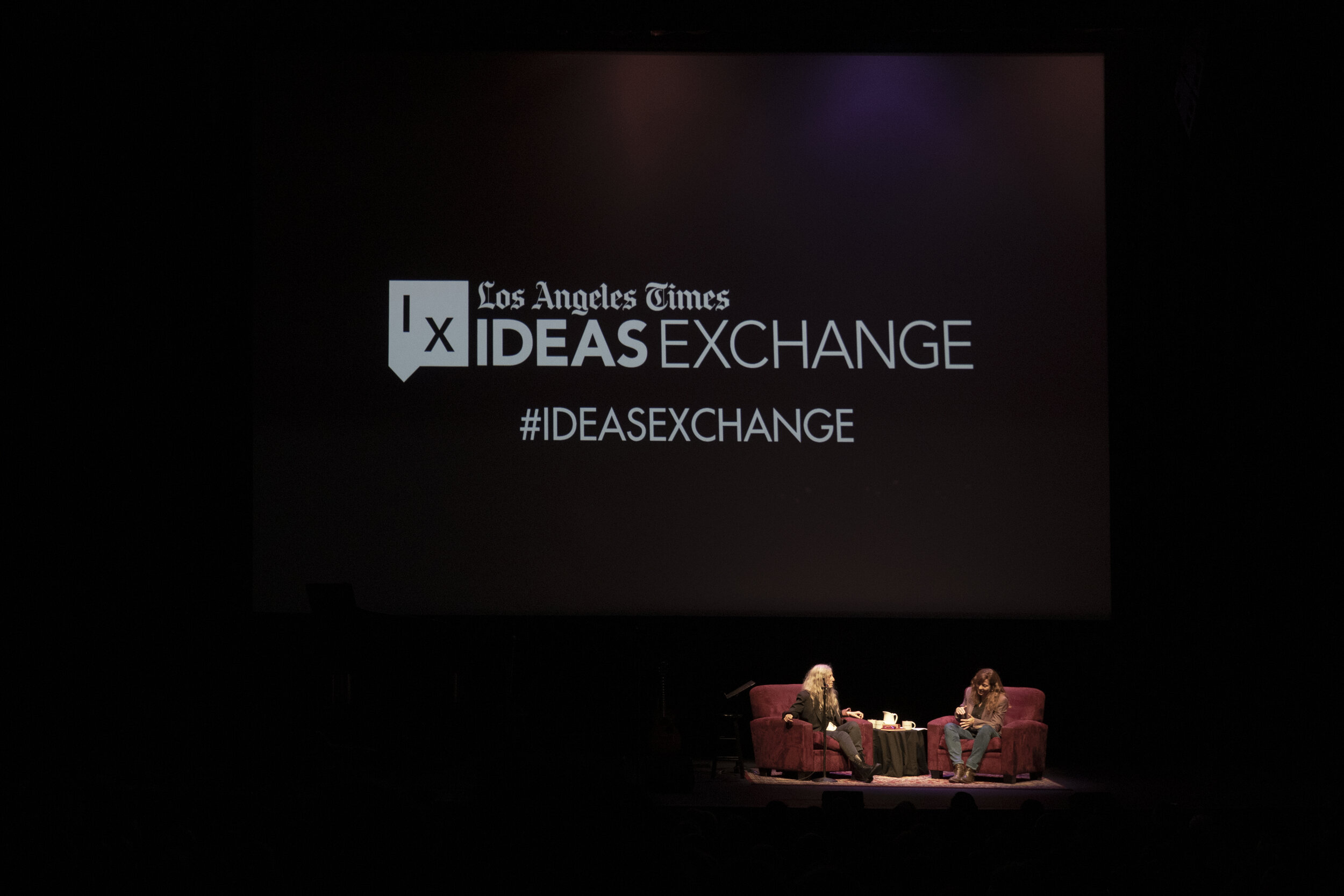 Patti Smith and Lorraine Ali in conversation for the Los Angeles Times Ideas Exchange.