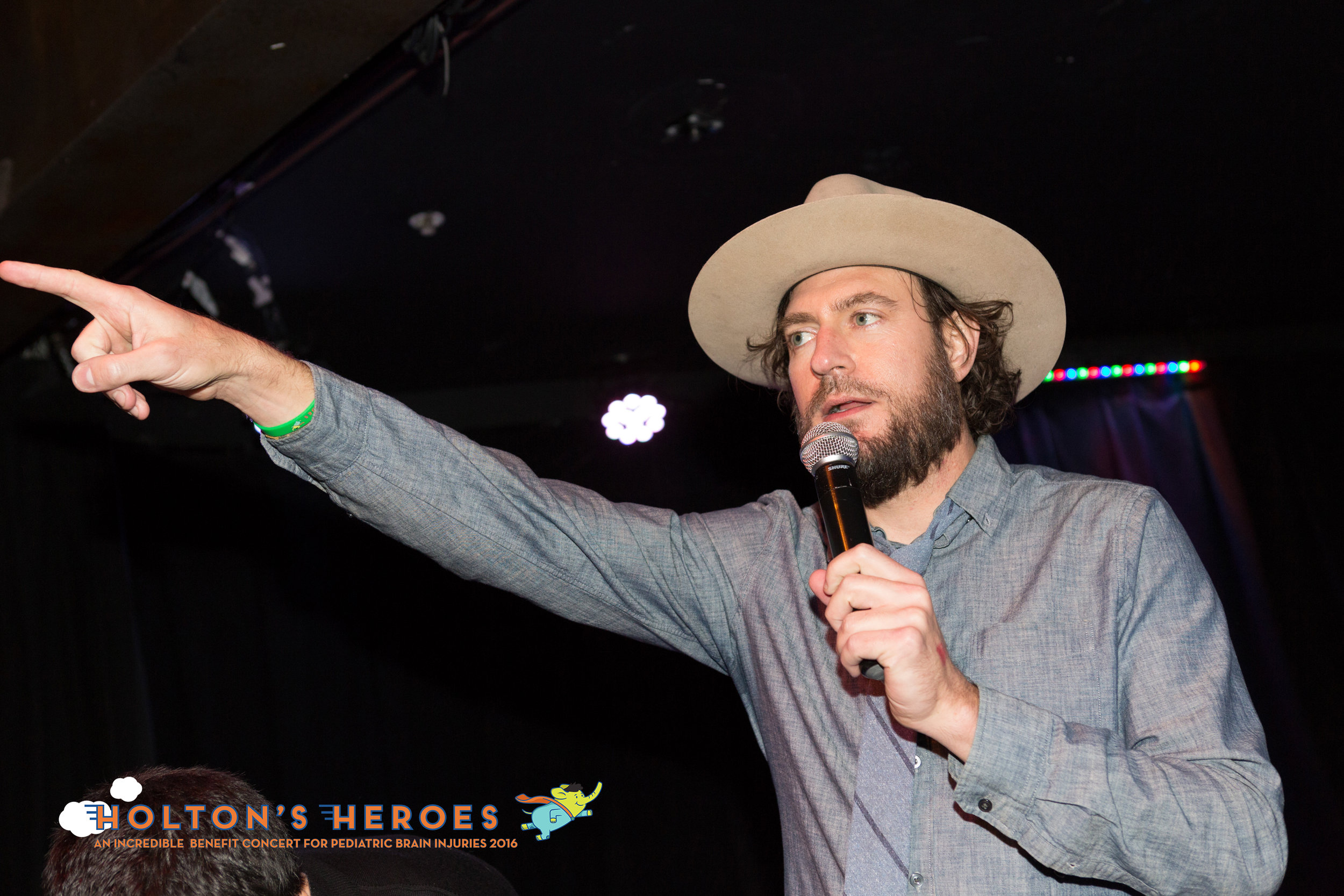 History channel's Zach Selwyn served as our night's MC.   Photo by Chyna Photography