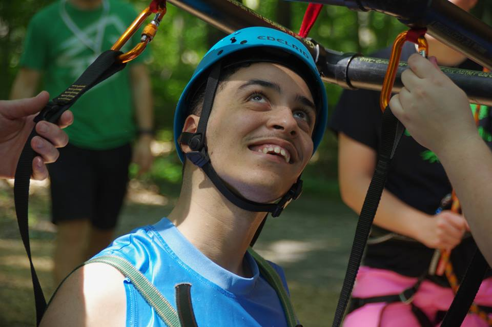 LUIS - Describe Camp Cranium in One Word: HeavenFavorite Camp Activity: Swimming in the PoolBiggest Camp Accomplishment of 2017: Rock ClimbingFavorite Camp Food: All of ThemDid He Miss His Family?: No ;)
