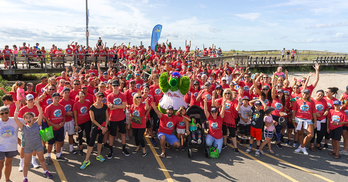 A LOOK BACK: The 2018 Holton's Heroes Walk - The Phillie Phanatic led the charge as hundreds of walkers raised awareness and a record amount of funds for pediatric brain injury survivors at last year's 3rd annual Walk/Roll for Pediatric Brain Injuries.