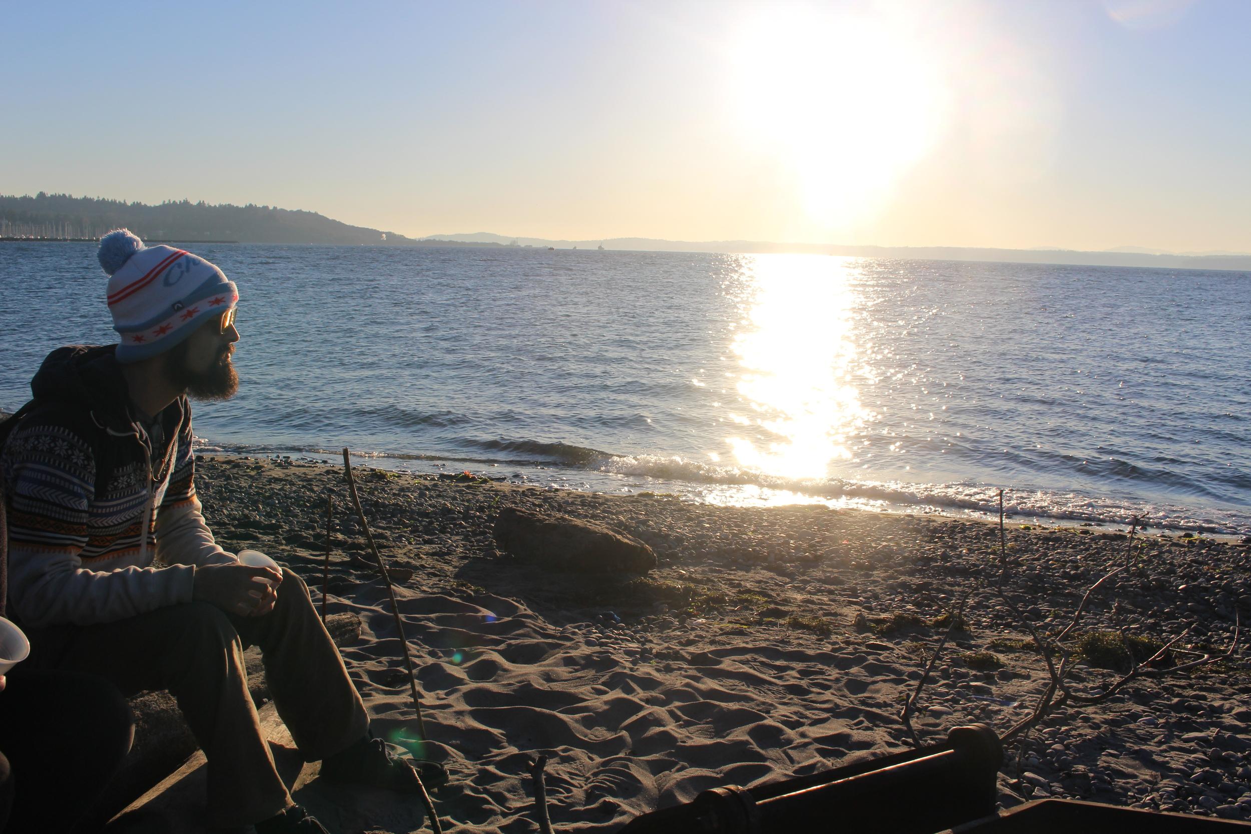 Gloden Park Beach, Seattle