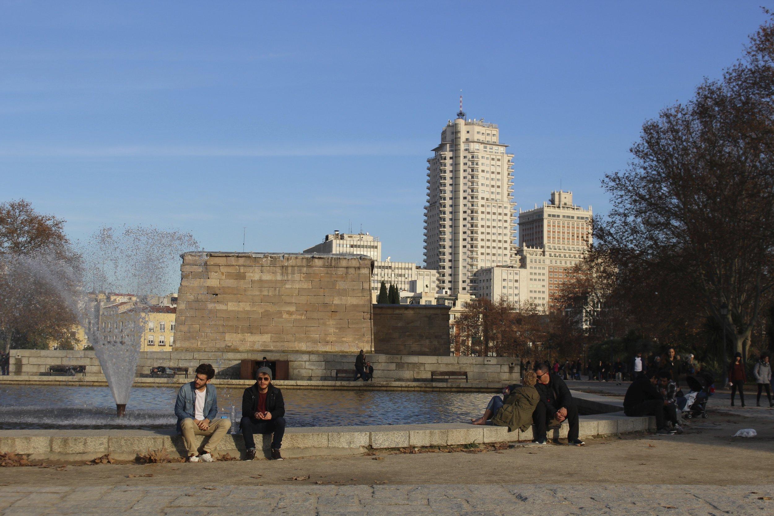Madrid under the winter sun :)