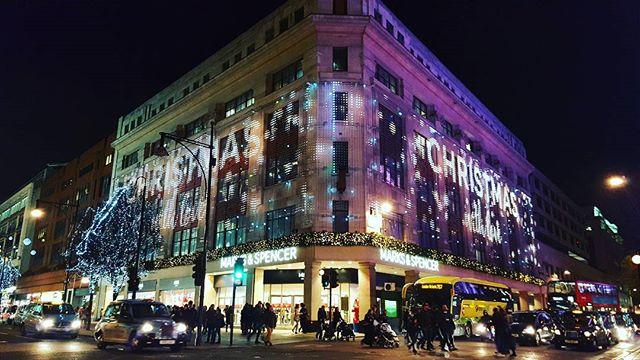 Christmasyyy London!! :D