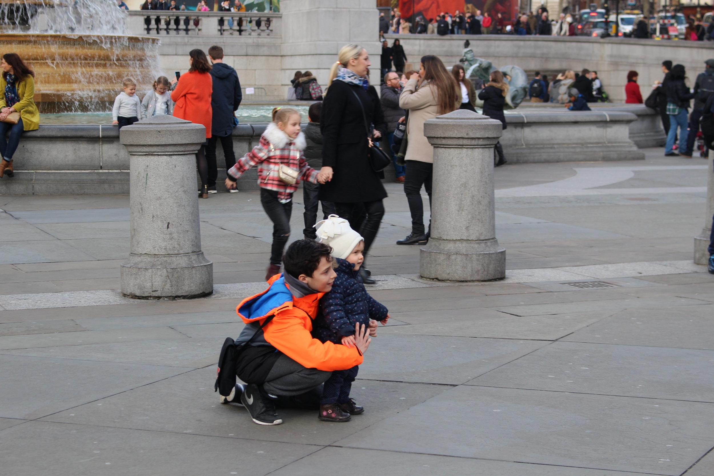@Trafalgar Square, London <3