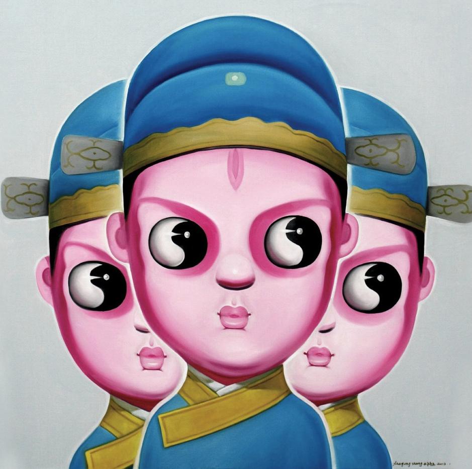 """Opera 5""   Oil on Canvas   100 x 100 cm   2012"
