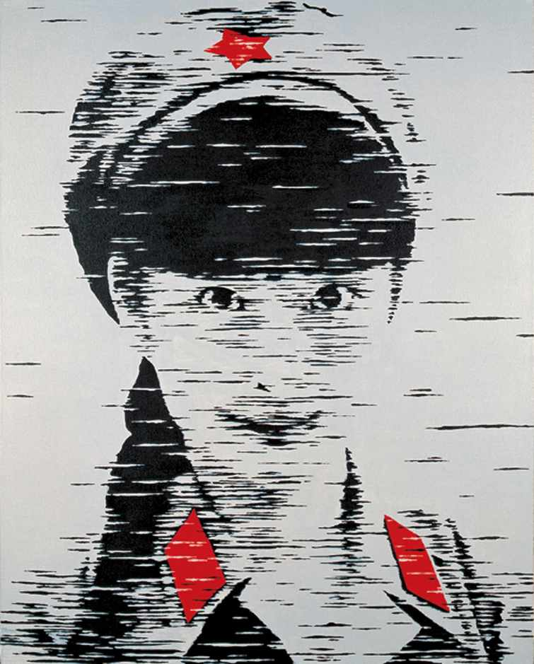 """Girl No.48""   Oil on Canvas   100 x 80 cm   2009"