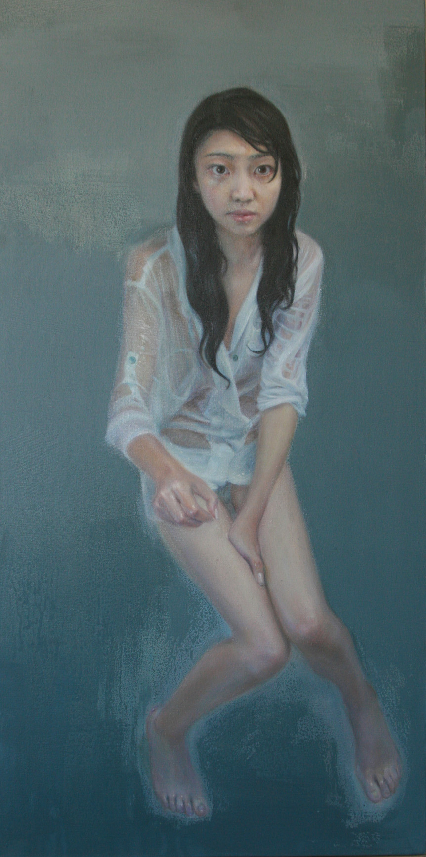 """""""Cold 2""""   Oil on Canvas   60 x 120 cm   2010"""
