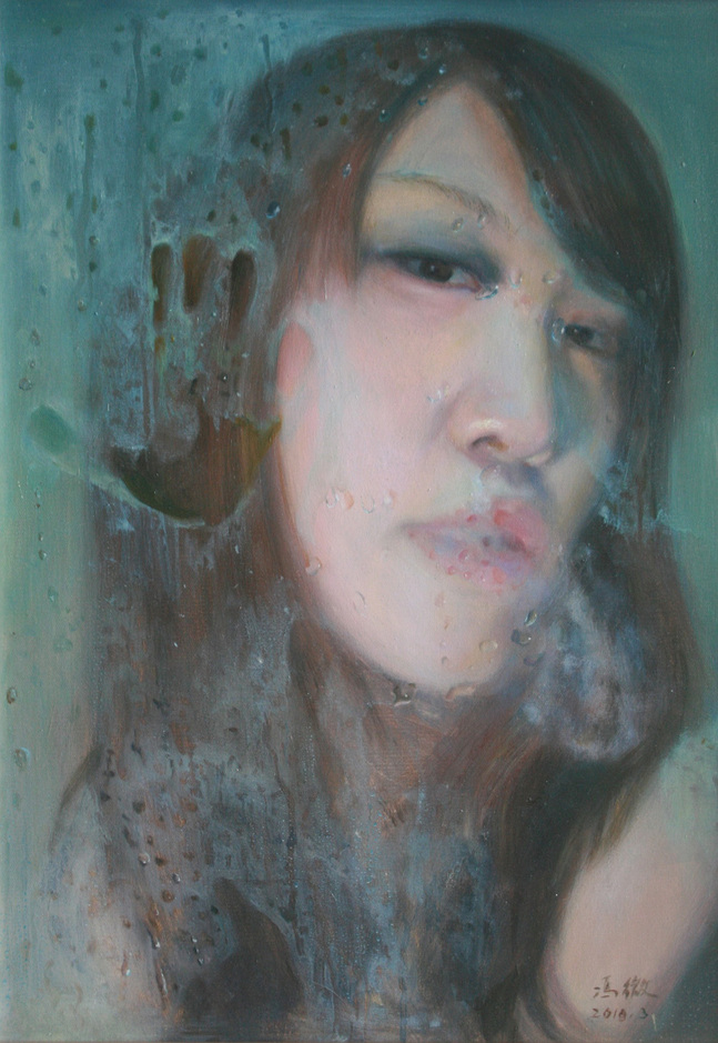 """Steam 1""   Oil on Canvas   50 x 70 cm   2010"