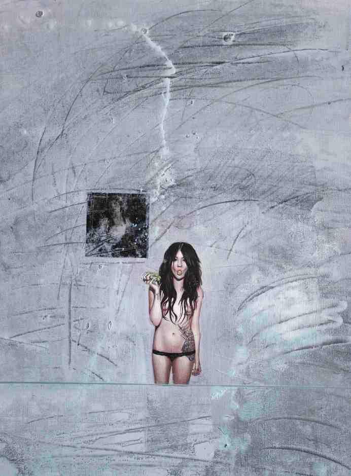 """Emancipation 2""   Oil on Canvas   30 x 40 cm   2011"