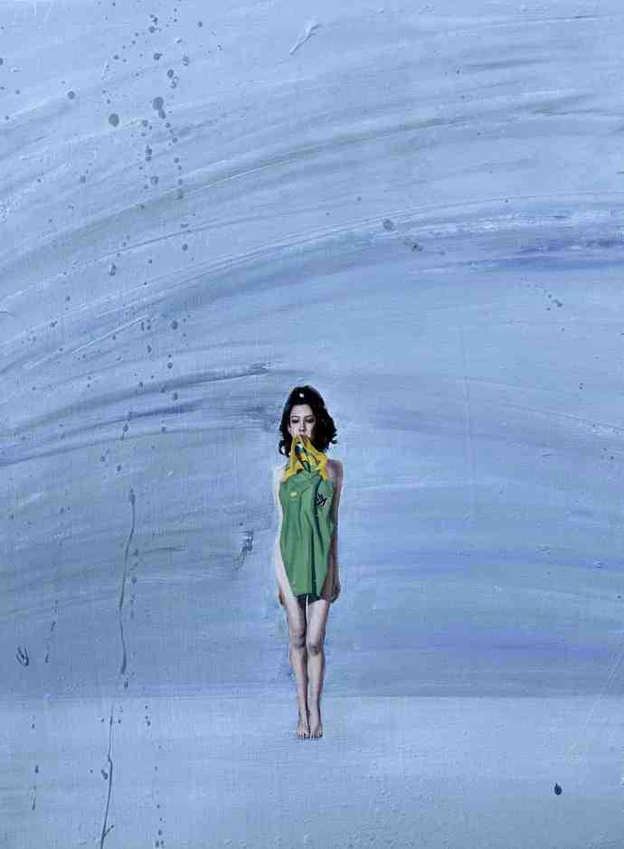 """Emancipation 3""   Oil on Canvas   30 x 40 cm   2011"