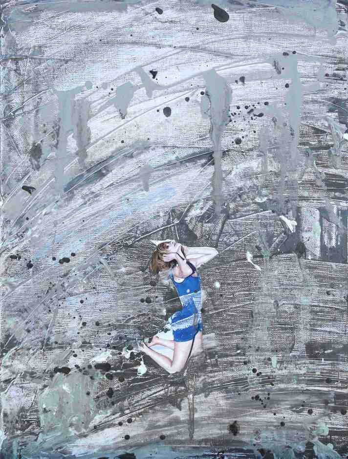 """Emancipation 4""   Oil on Canvas   30 x 40 cm   2011"