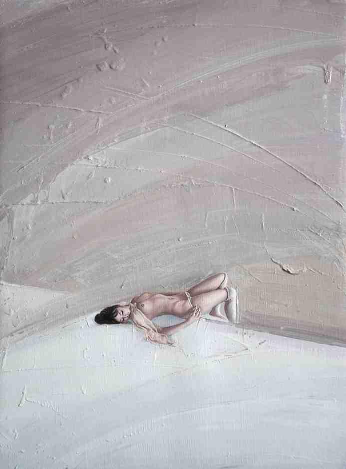 """Emancipation 5""   Oil on Canvas   30 x 40 cm   2011"