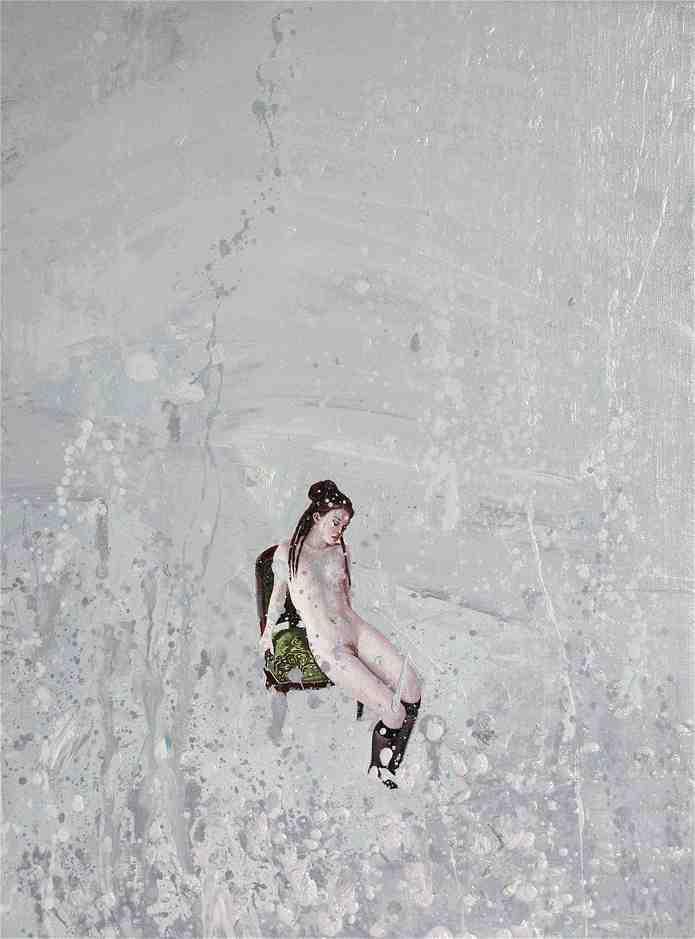 """Emancipation 8""   Oil on Canvas   30 x 40 cm   2011"