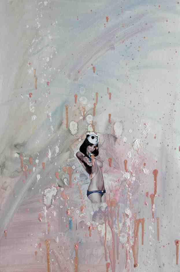 """Emancipation 9""   Oil on Canvas   30 x 40 cm   2011"