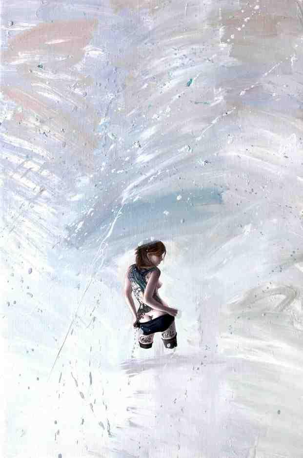 """Emancipation 11""   Oil on Canvas   30 x 40 cm   2011"