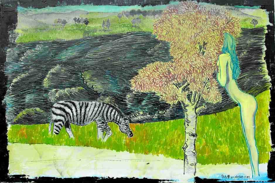"""Eden""   Oil on Canvas   60 x 40 cm   2011"