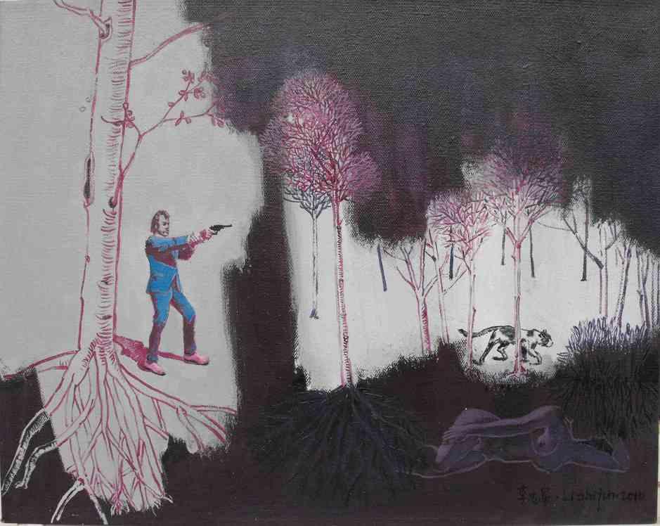 """Indestructible Dreams""   Oil on Canvas   50 x 40 cm   2010"