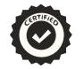 Artworks certified