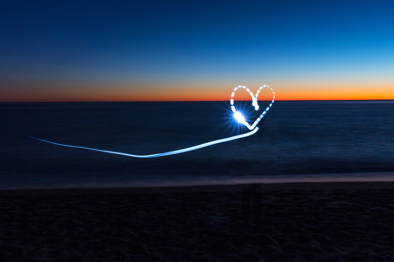 """Heart Balloon""   Light Photograph - Metal Print, Medium gloss   61 x 41 cm   Limited edition of 5   2016"