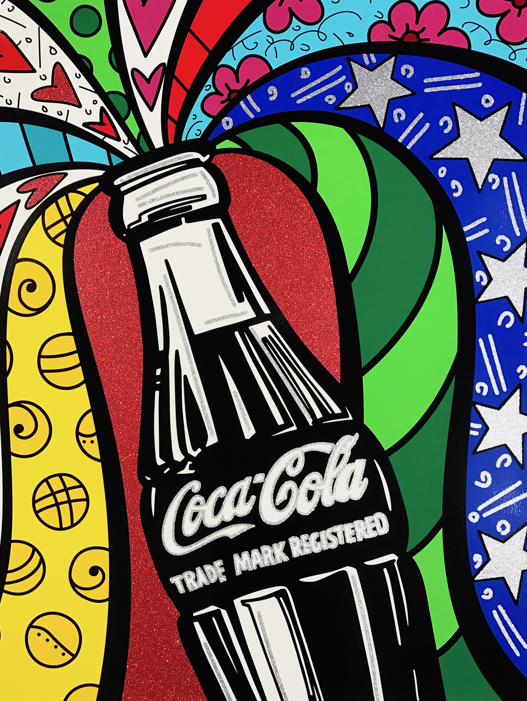 """Coca-Cola I - Sharing"" Serigraph, Limited edition, No. 10 of 100 101.6 x 76.2 cm 2016"