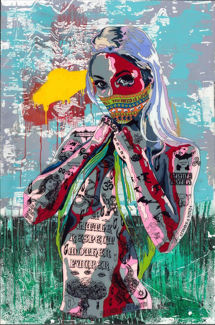 [Art Supermarket] Norman O'Flynn_Timekeeper37_All you need is love_Lightbox_150x100x10cm.jpg