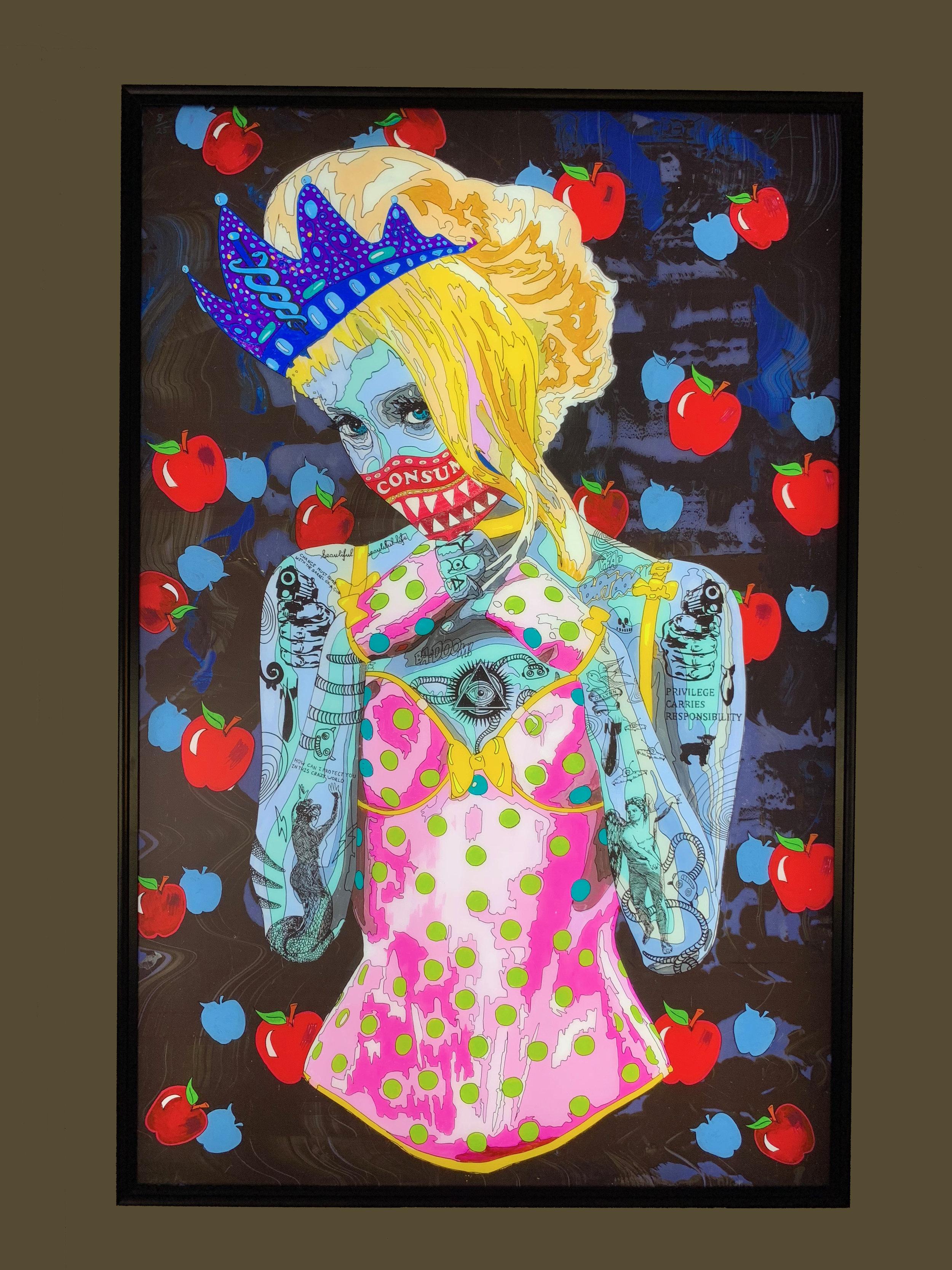[Art Supermarket] Norman O'Flynn_Timekeeper52_Queen_Lightbox_150x100x10cm_3D.jpg