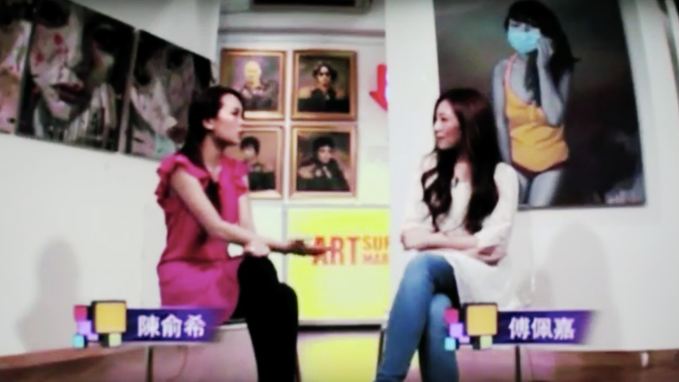 ">> 30 Aug 2013: Hong Kong's TV-Station ""NowTV"" chooses Art Supermarket s the Studio for its new Talk Show"