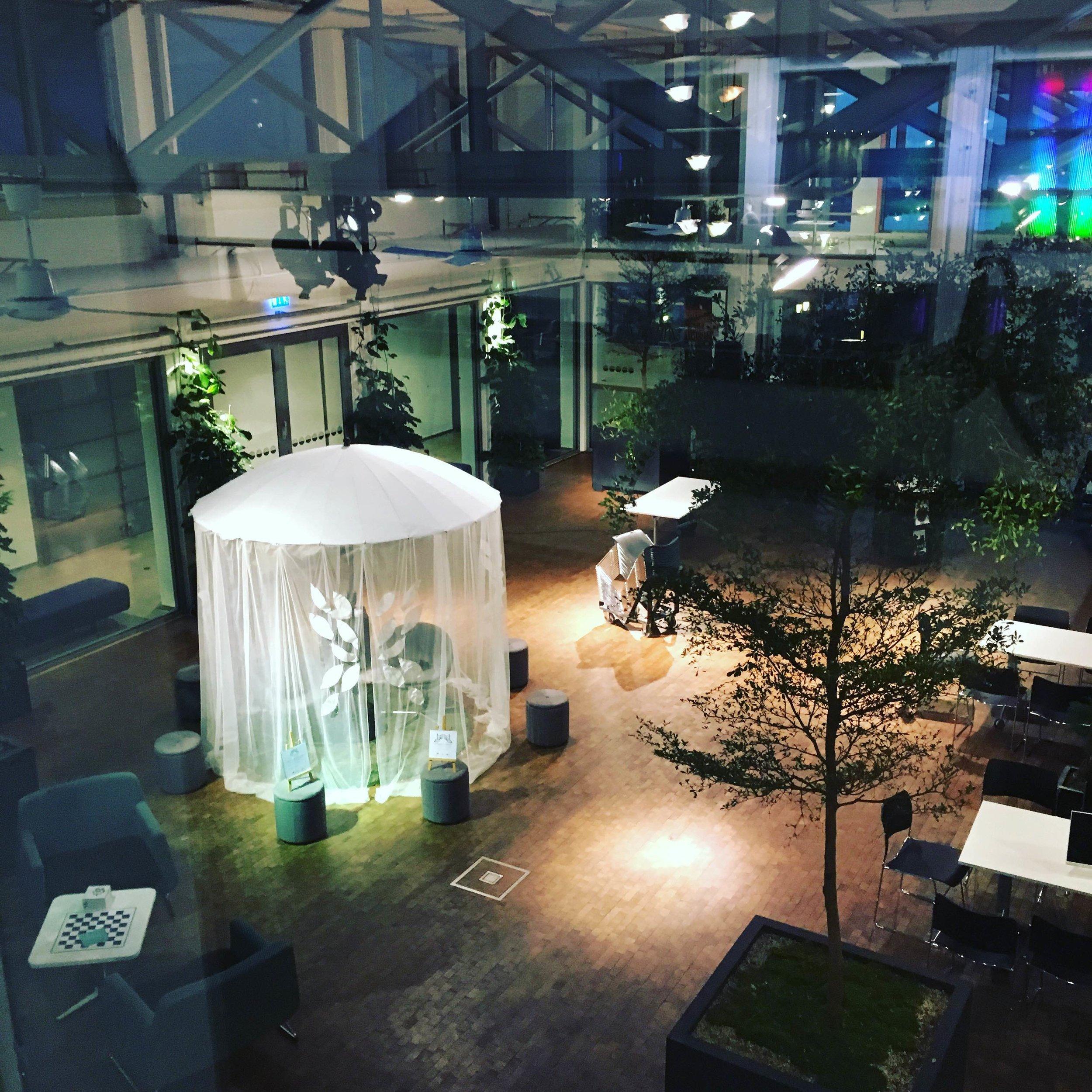 The garden of thoughts at Dunkers Kulturhus, Helsingborg on November 11, 2017.© Pernilla Belfrage