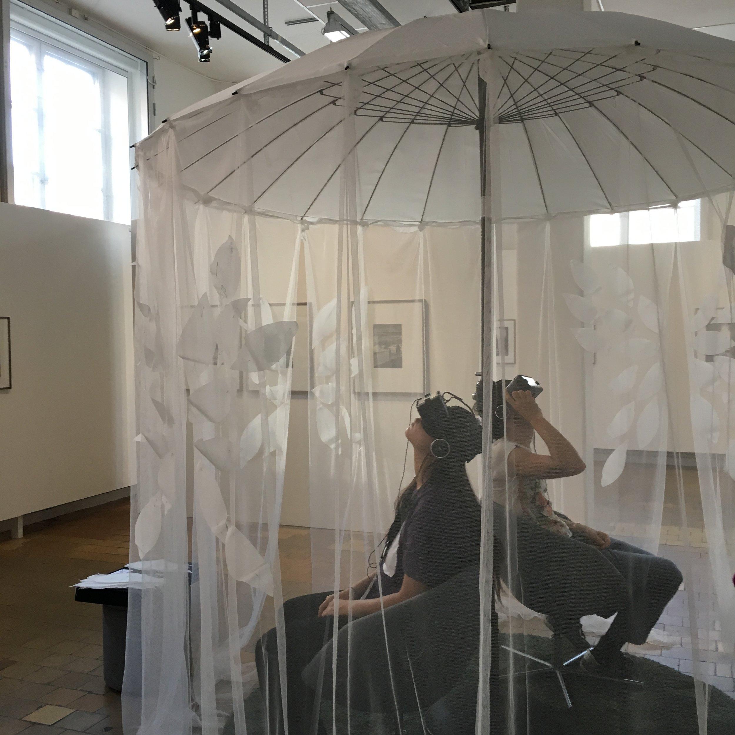 Le jardin des pensées/Unfolding at Galleri Format, Nordisk Panorama Film Festival on September 23-24, 2017. © Pernilla Belfrage.