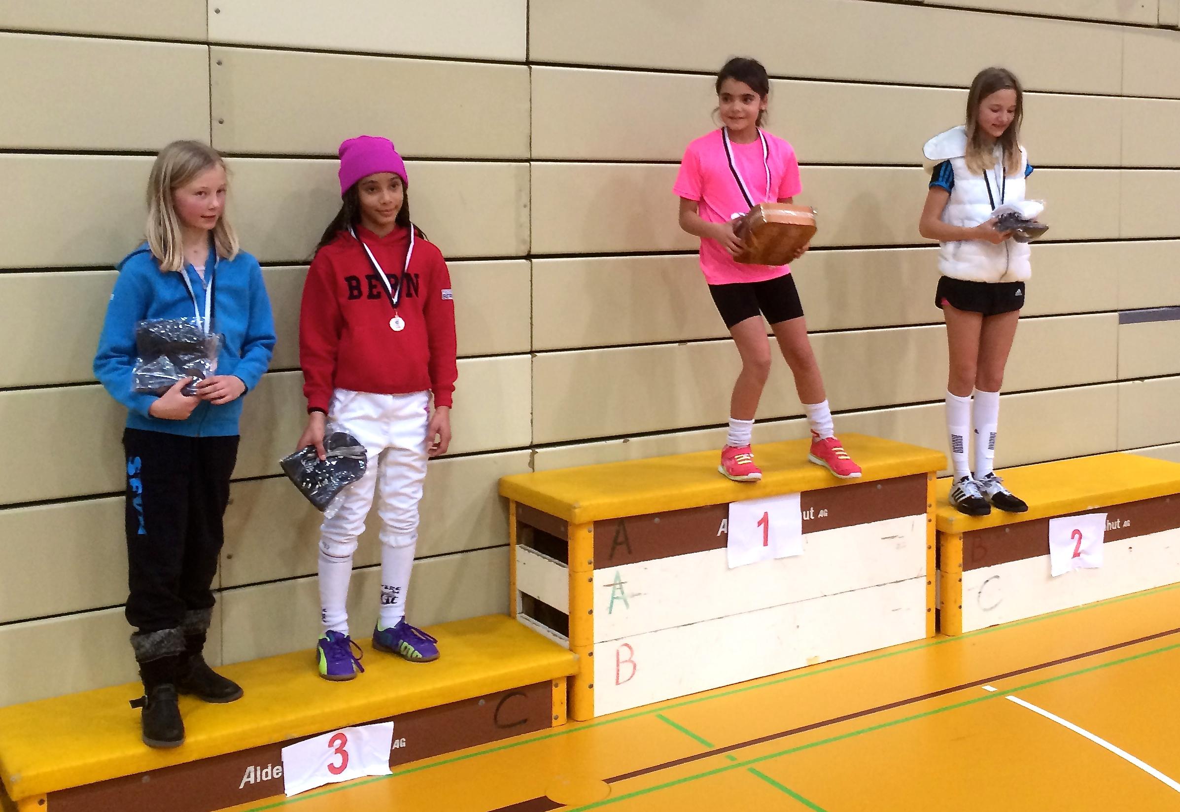 3. Platz für Zoé Staudenmann bei den Benjamins. (Foto: FCB)
