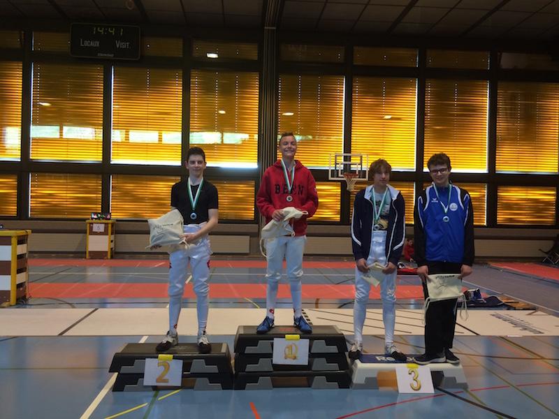 1. Platz für Jeremy Ramuz, U14