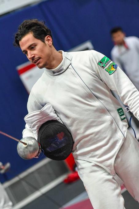 Fabian Kauter am TISSOT Grand Prix de Berne 2018. (Foto: Eva Pavía/Bizzi Team/Swiss Fencing)