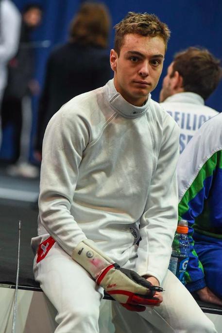 Fabian Broger am 55. TISSOT Grand Prix de Berne 2018. (Foto: Eva Pavía/Bizzi Team/Swiss Fencing)