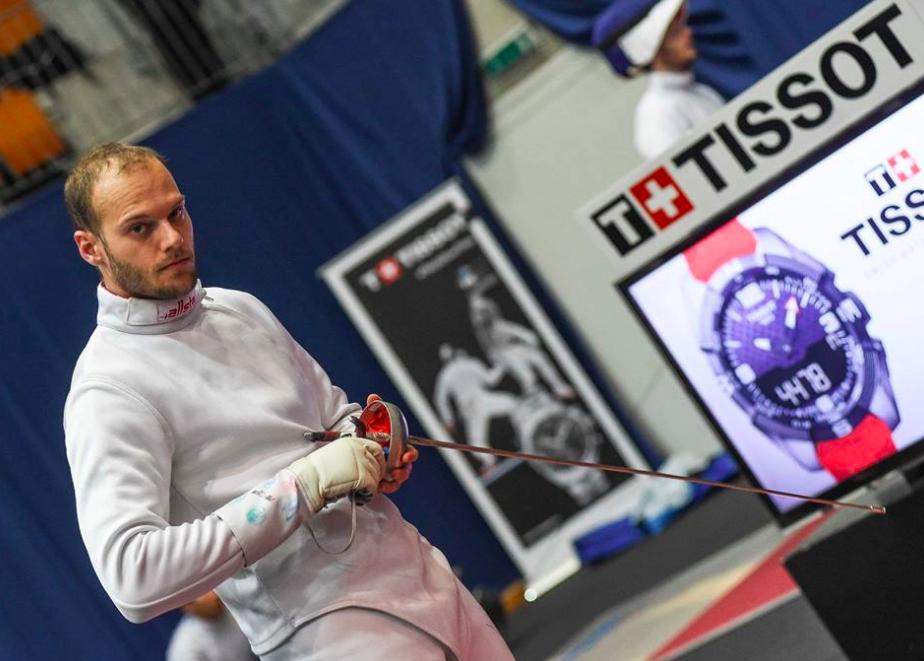 Jan Bidovec am 55. TISSOT Grand Prix de Berne 2018. (Foto: Eva Pavía/Bizzi Team/Swiss Fencing)