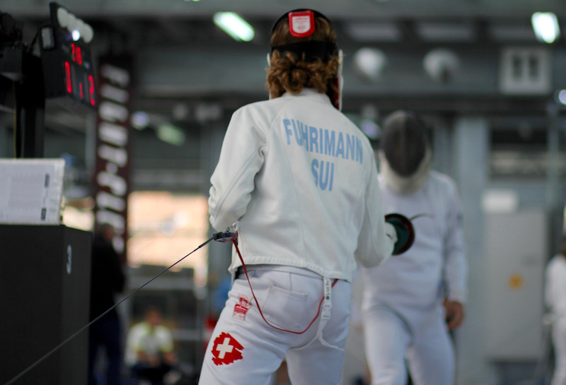 Jonathan Fuhrimann in Aktion.