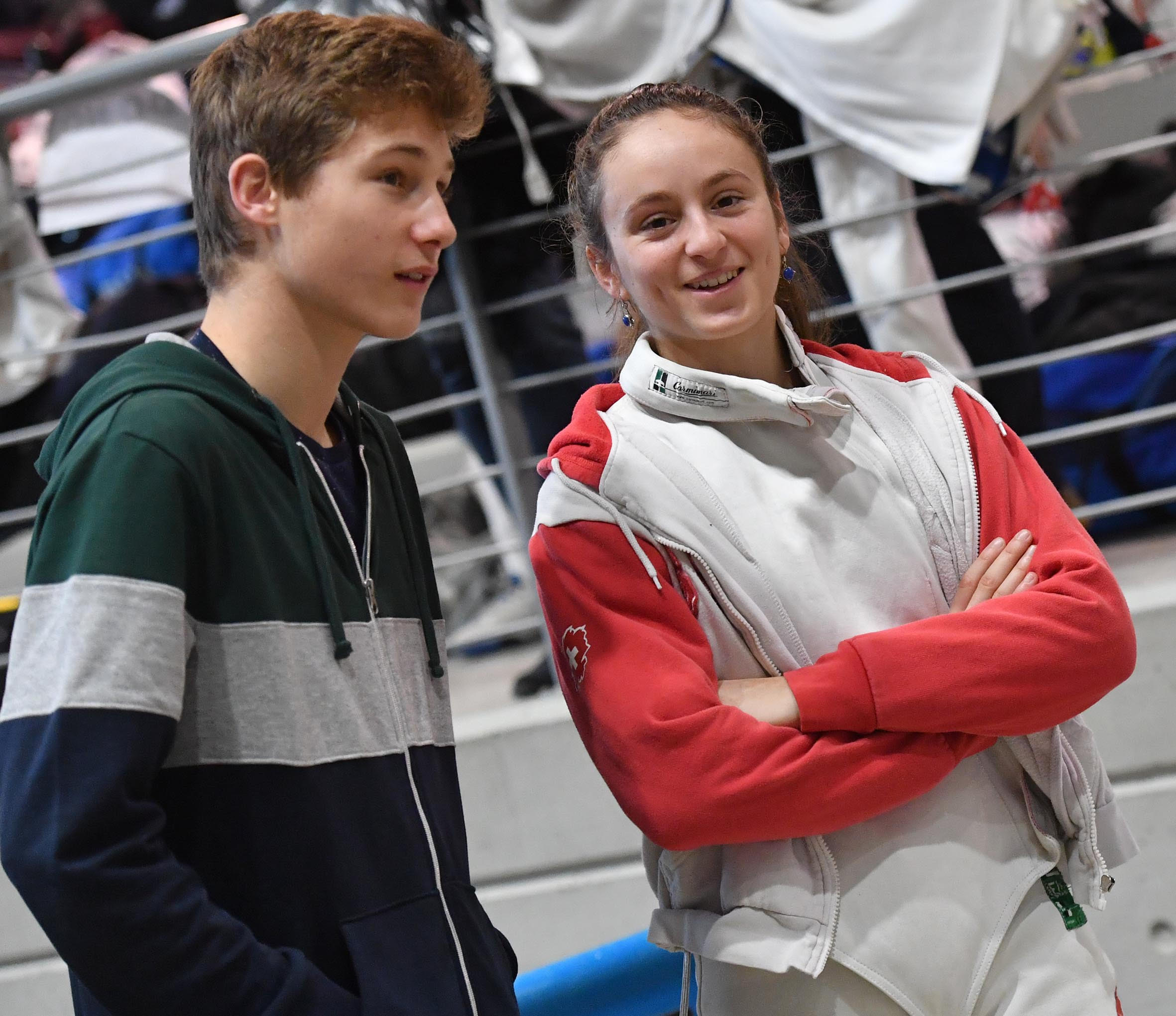 Angeline Favre vom Fechtclub Bern. (Foto: Augusto Bizzi/FIE, Swiss Fencing)