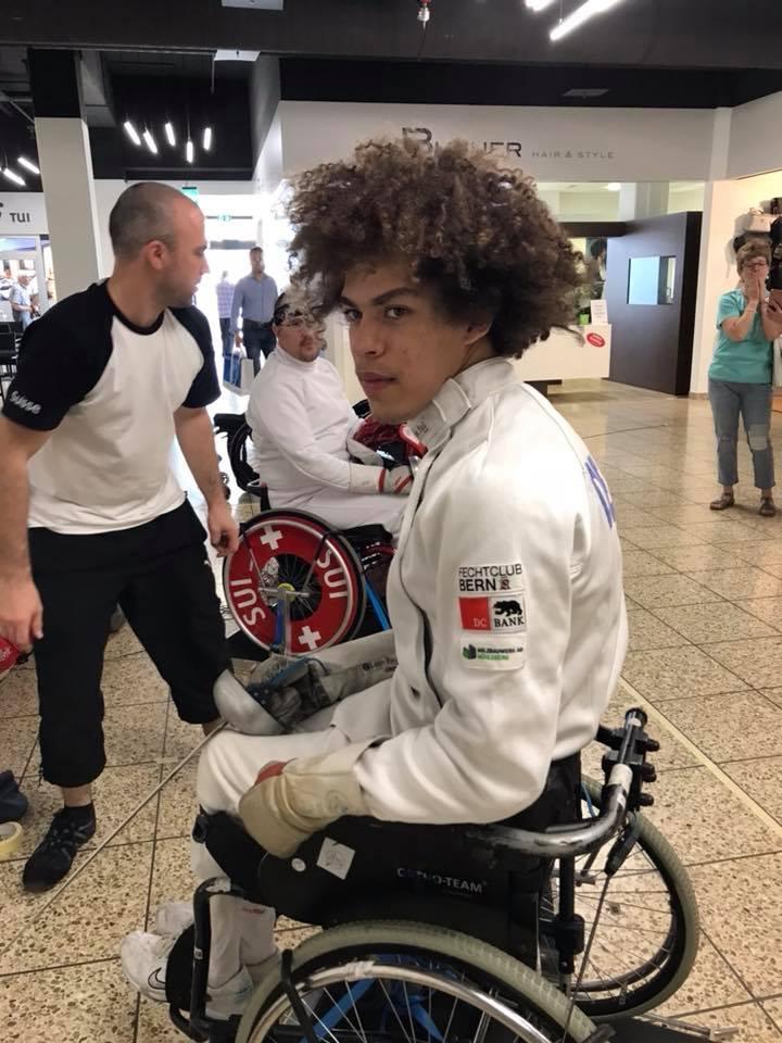 Fred de Oliveira ist startbereit für den Weg nach Tokio. (Foto: zvg)
