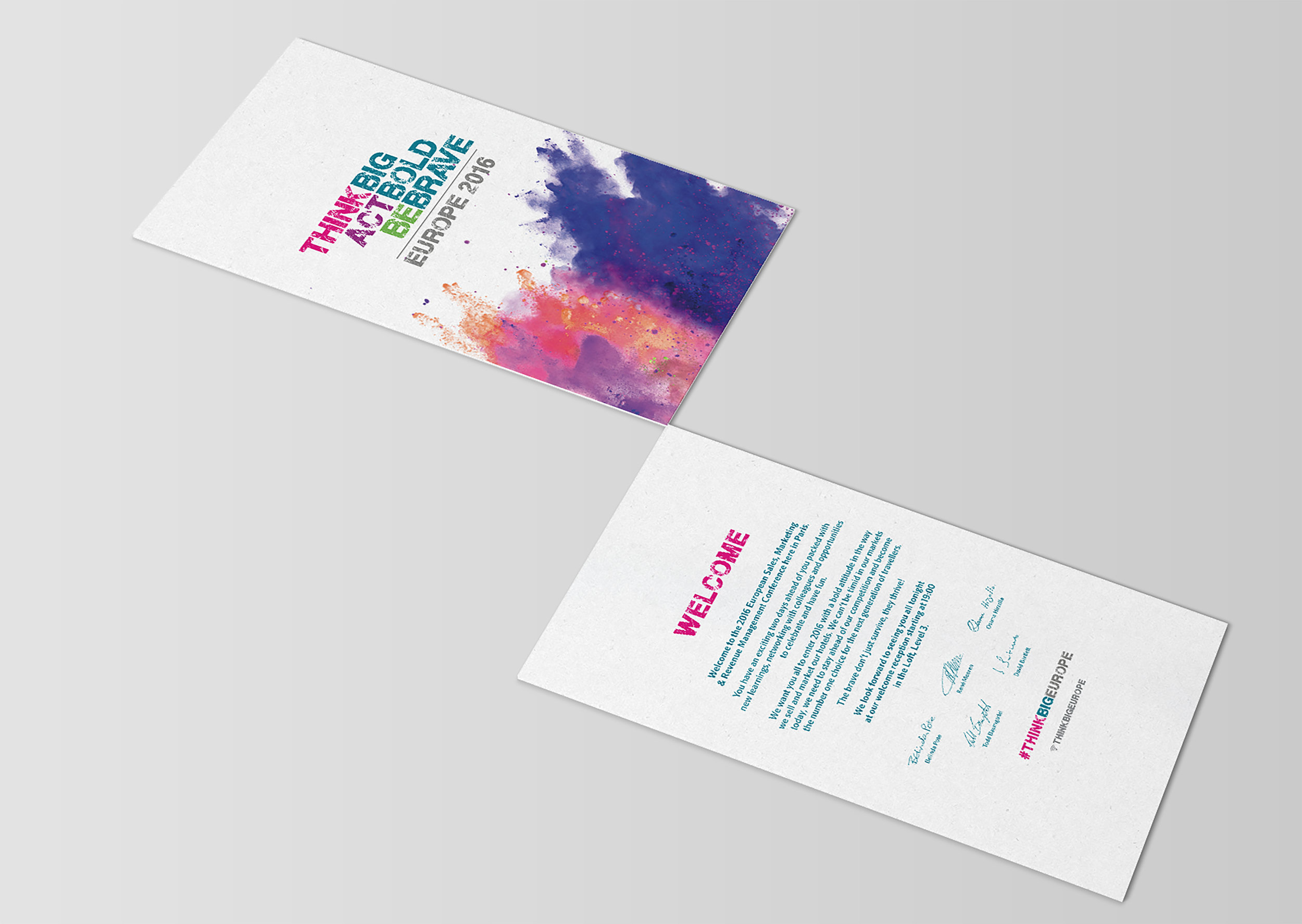 Cactus Design Studio Conference Branding business cards