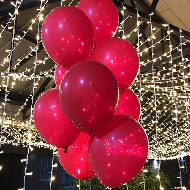 A lovely #balloon evening with @vgoodandproper