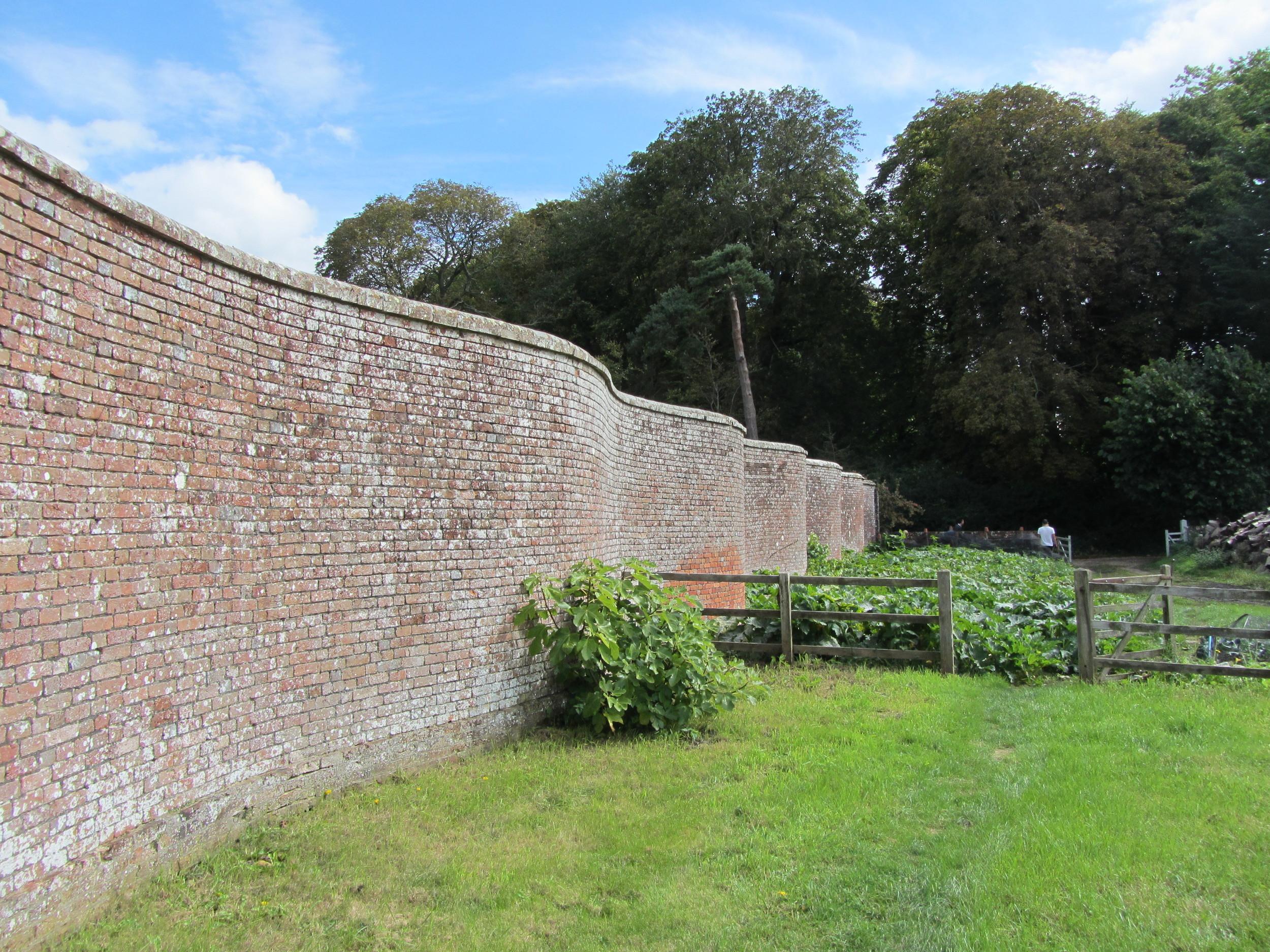 Serpentine Wall, Deans Court, Dorset