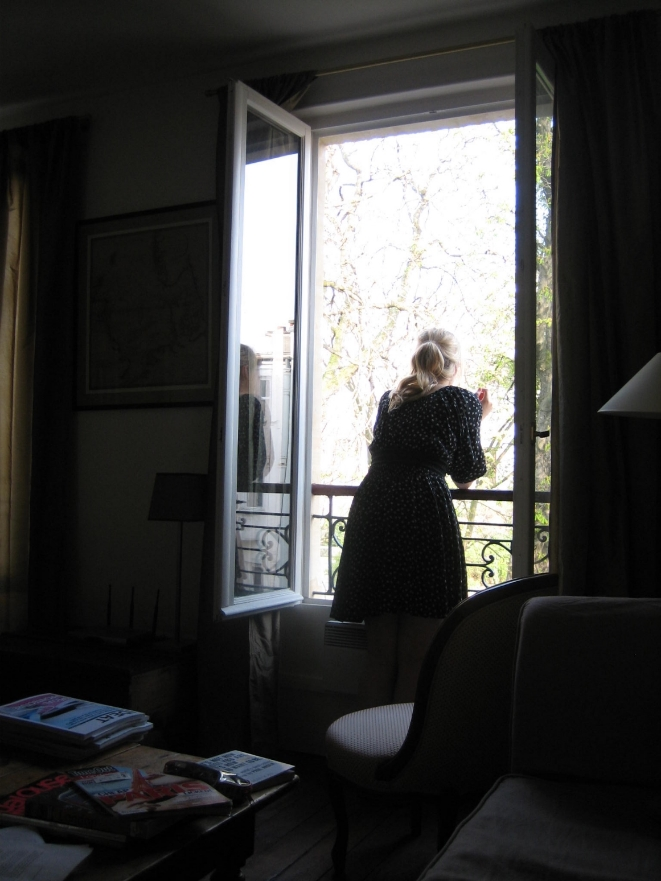 Dreaming from a Paris window
