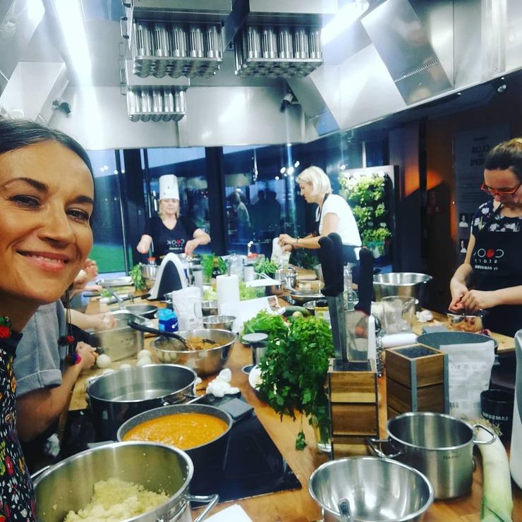 Vegan Cuisine Workshop with bestselling author Iwona Zasuwa - Sova Food Vegan Butcher