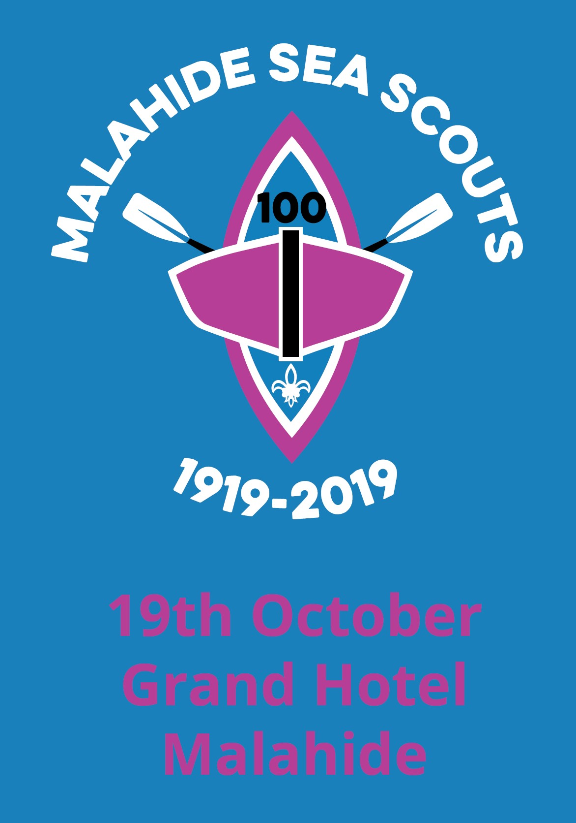 Malahide Sea Scouts Centenary Black Tie Ball -
