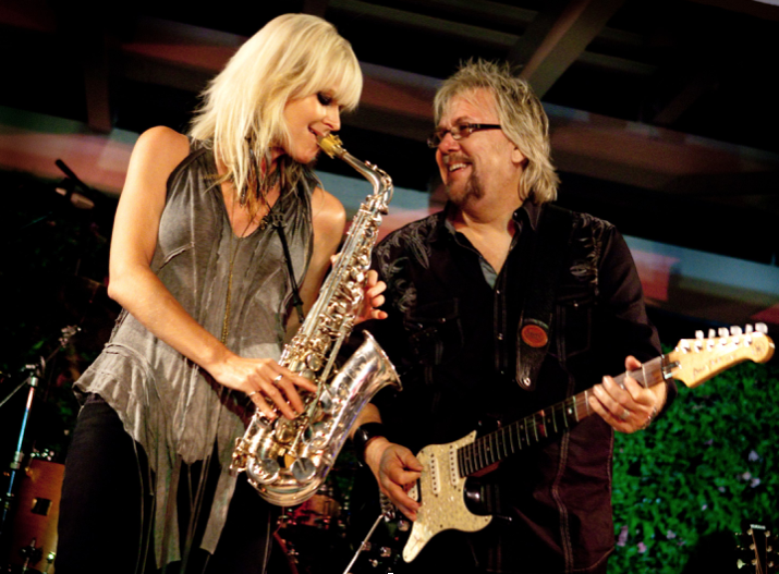 2012 David toured America as solo artist and with top jazz sax player Mindi Abair (American Idol, Aerosmith) and guitarist Jeff Golub (Rod Stewart) including a stop at theHollywood Bowl.