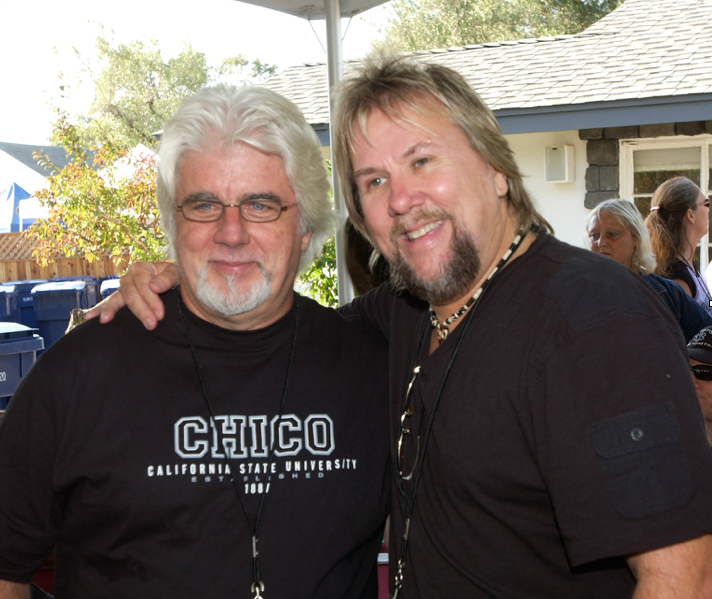 Michael McDonald asked David to join his band in 1987-1989 and the two good friends toured the world